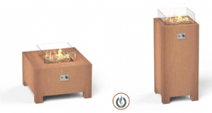 Gas Fired Fire Tables from Potstore.co.uk